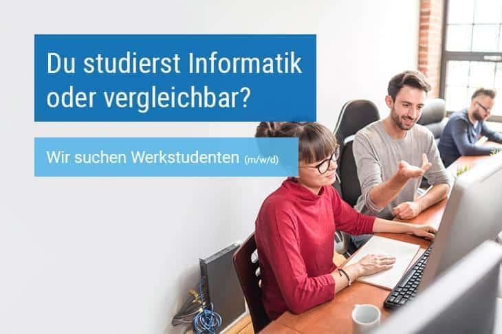 Werkstudenten mit dem Schwerpunkt Development bei der IMSGmbH
