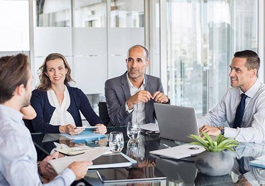 Karriere im Consulting - Meeting mit Kunden