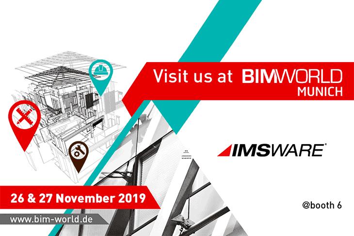 IMS auf der BIM World Munich 2019