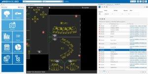 Objektmanagement Grafik Detailfenster IMSWARE