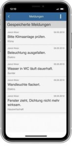 HelpDesk saved message app