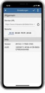 App inventory settings