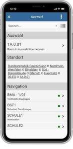 IMSWARE App Maintenance selection