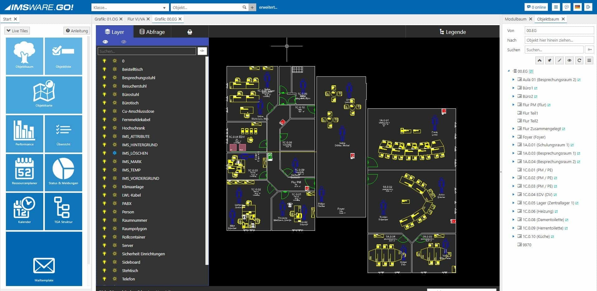 CAD Grafik Layer CAD » RIB IMS