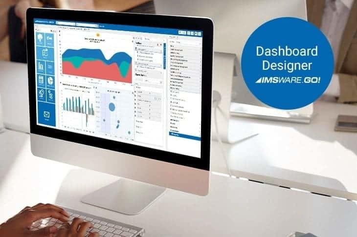 Dashboard Designer in IMSWARE.GO! - Screenshot