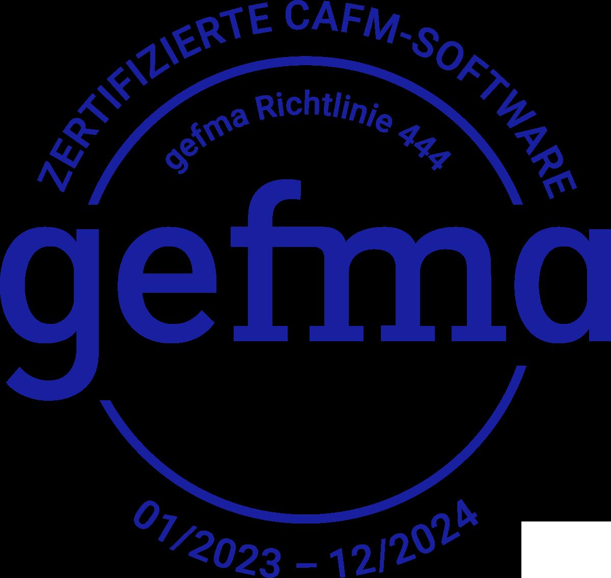 برنامج CAFM المعتمد من GEFMA 444 2010bis2209 وحدات RGB CAFM »RIB IMS