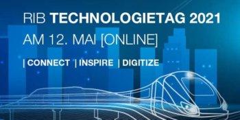 RIB Technologietag 2021 am 12. Mai