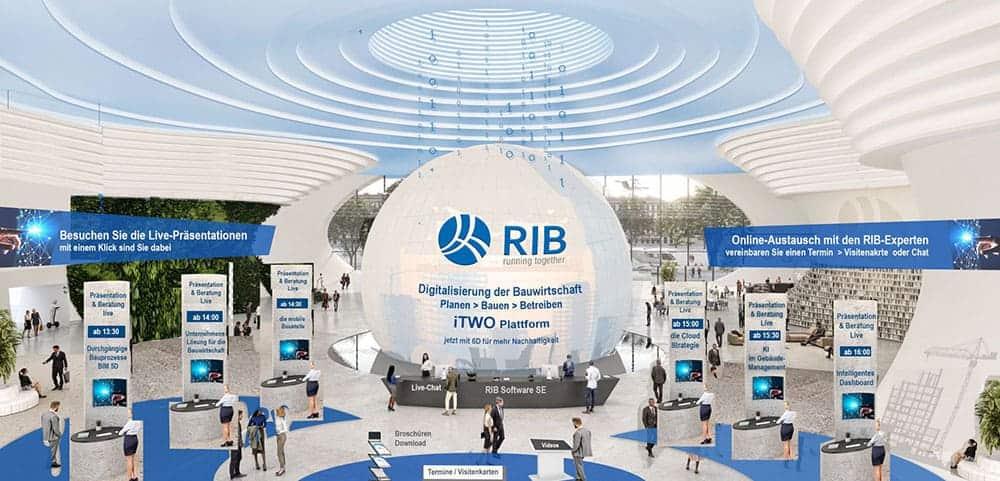 Tag der Bauindustrie RIB Sponsor
