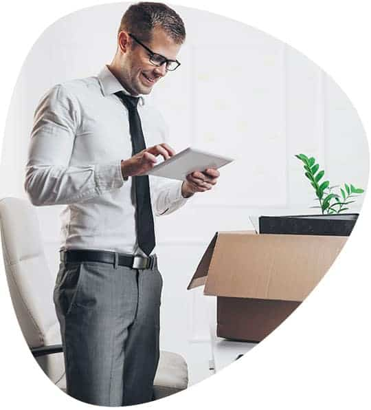 iTWO fm App Asset - Umzug in anderes Büro