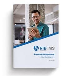 "Flyer App Inventory Cover Sheet "" RIB IMS"